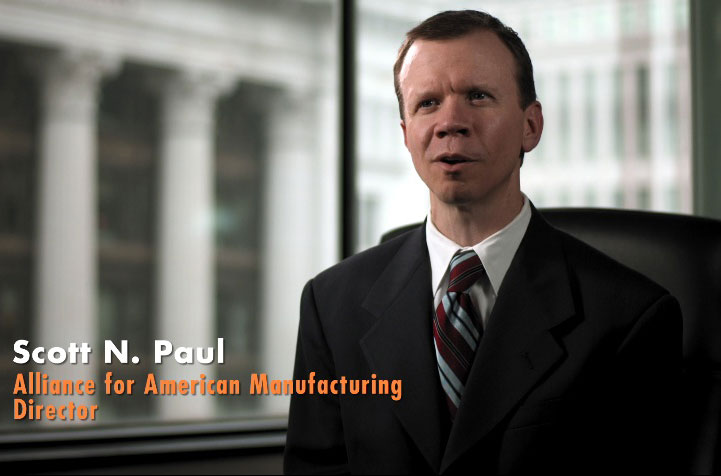 Image result for Scott Paul Alliance for American Manufacturing