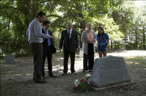 American Made Movie Visits the Grave of Robert Johnson